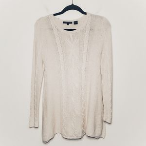 Jean Pierre Cable Knit Tunic Sweater